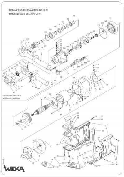 diamant-kernbohrmaschine typ dk 11 diamond-core drill type