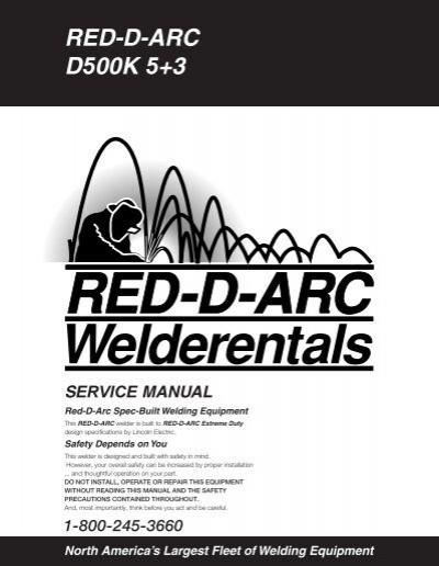 RED-D-ARC D500K 5+3