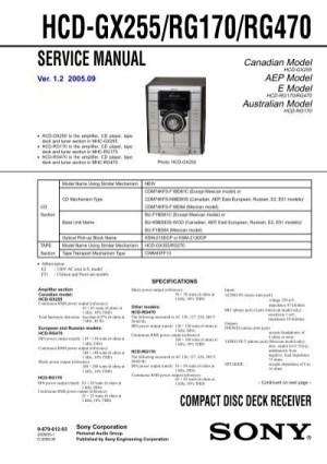 HCDGX255RG170RG470  Diagramas Gratis  Diagramas