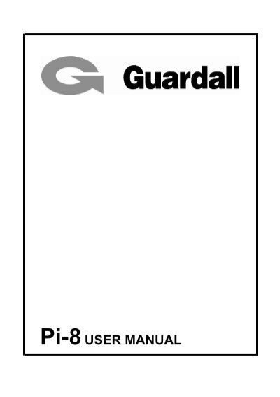 Pi-8 USER MANUAL