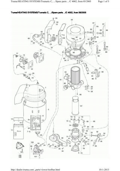 Page 1 of 5 Truma/HEATING SYSTEMS/Trumatic C,/Spare