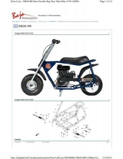 Doodlebug Mini Bike Engine Diagram. Mini. Auto Wiring Diagram