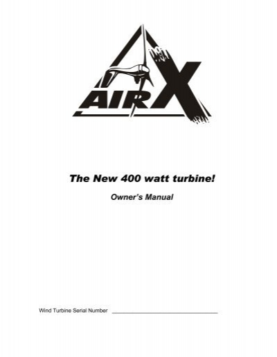 AIR-X Land Manual
