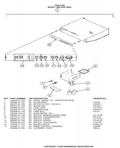 VENTLINEMODEL TMS-5012-SB