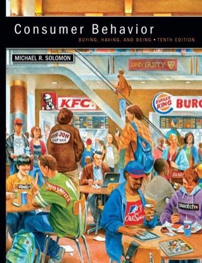 consumer behavior buying having and