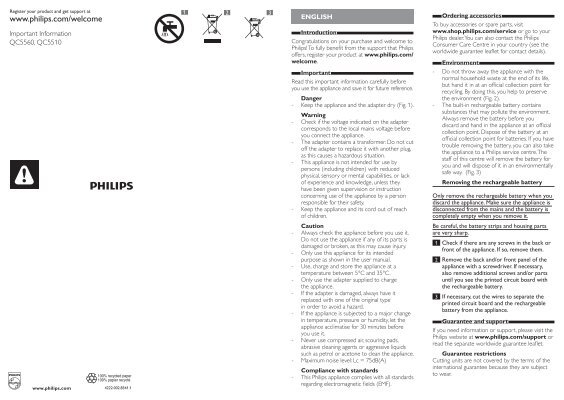Philips Norelco Headgroom do it yourself hair clipper
