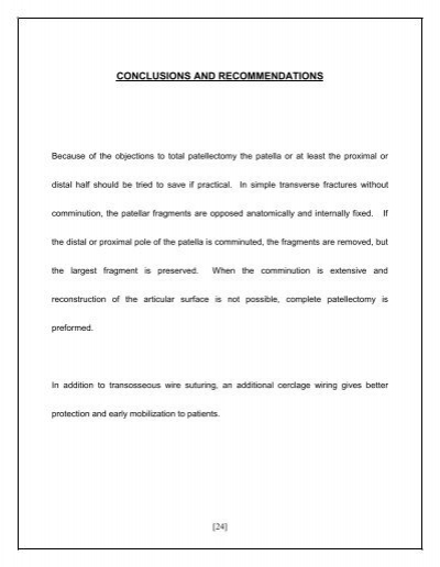 CONCLUSIONS AND RECOMMEND