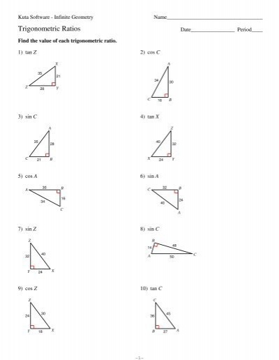 Kuta Software Infinite Geometry Worksheet Answers