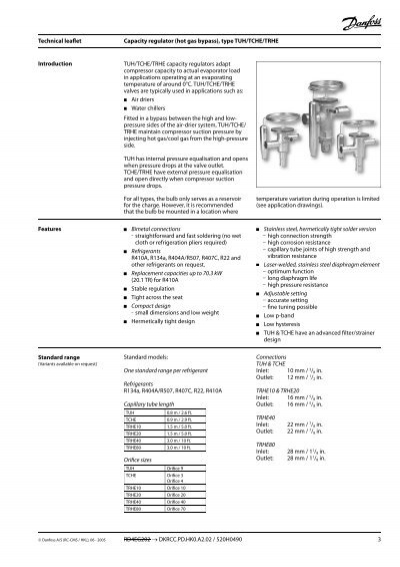 Technical leaflet