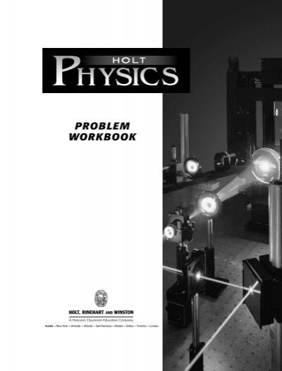 Holt Physics Prob