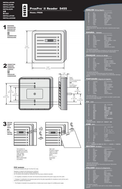 Hid Card Reader Wiring Diagram