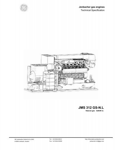 Gas Engines: Ge Jenbacher Gas Engines Pdf