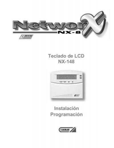 Instalación Programación Teclado de LCD NX-148