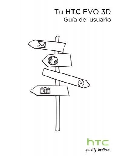 Manual de Usuario hTc EVO 3D