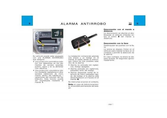 II 34 Alarma antirrobo II