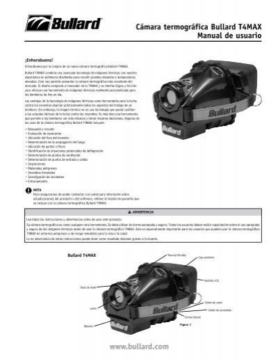 Cámara termográfica Bullard T4MAX Manual de usuario www