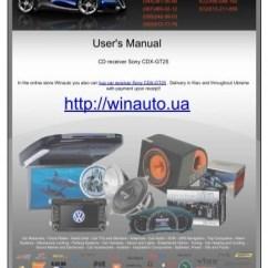 Sony Cdx Gt25 Wiring Diagram Rheem Ac Unit Cd Receiver