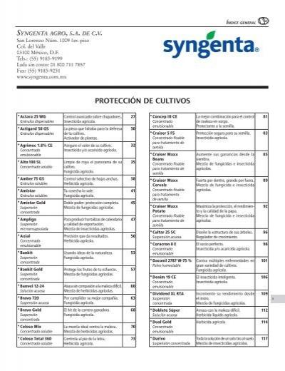 Syngenta agro, s.a. de c.