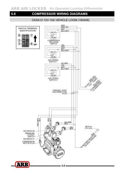 Rocker Switch Wiring Diagram Also Arb Locker Switch Wiring