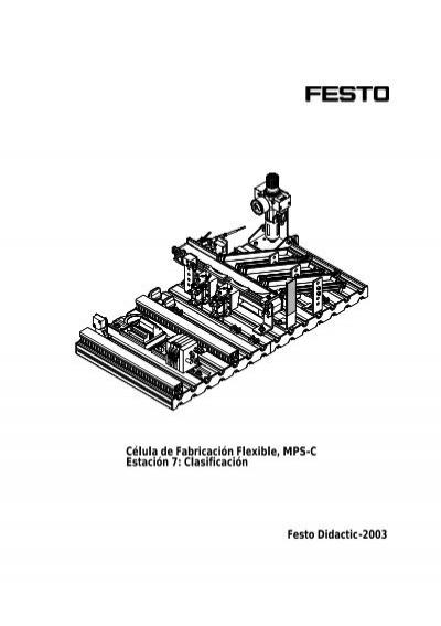 Célula de Fabricación Flexible, MPS-C Estación 7