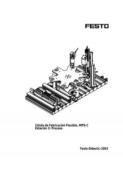 Célula de Fabricación Flexible, MPS-C Estación 3: Proceso