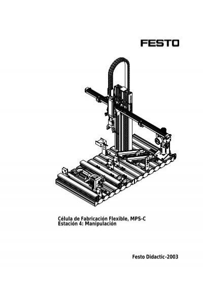 Célula de Fabricación Flexible, MPS-C Estación 4