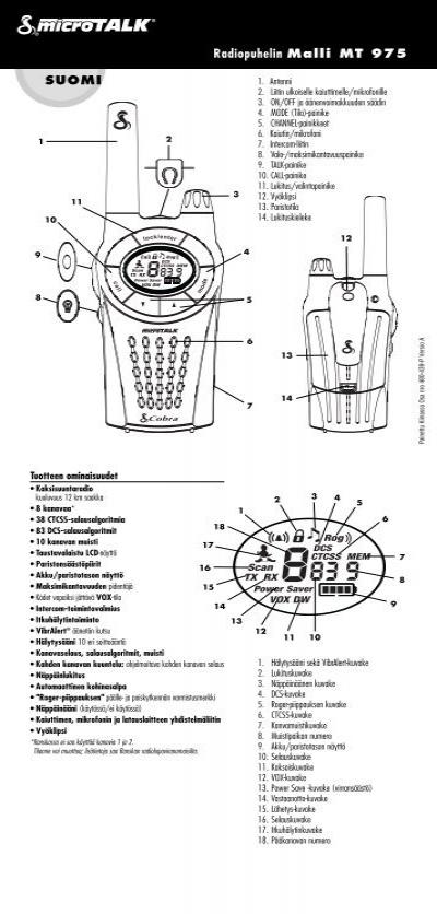 Cobra manual