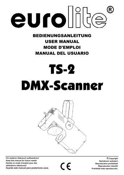 EUROLITE TS-2 User Manual