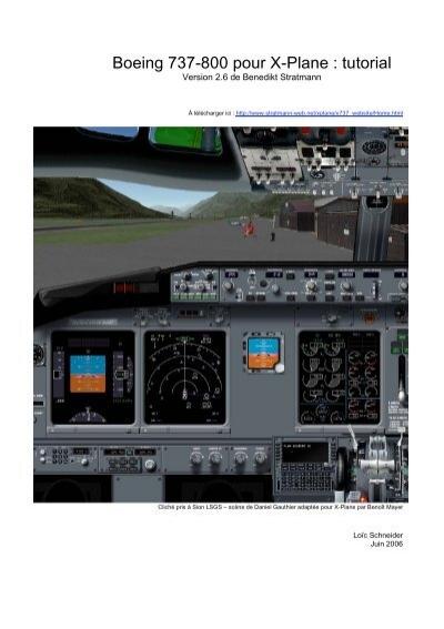 boeing 737 800 pour x plane tutorial