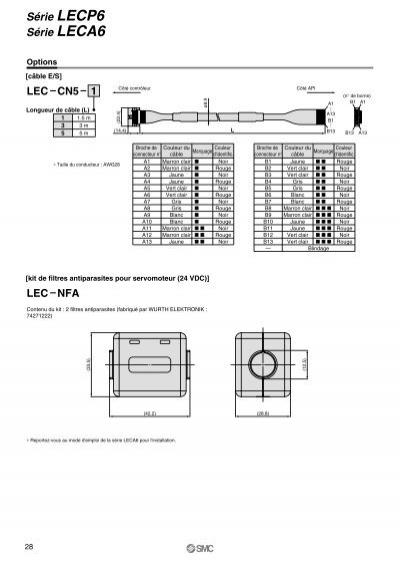 Série LECP6 Série LECA6
