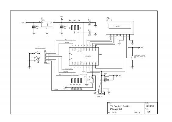 Schémas, circuit imprimé, implantation