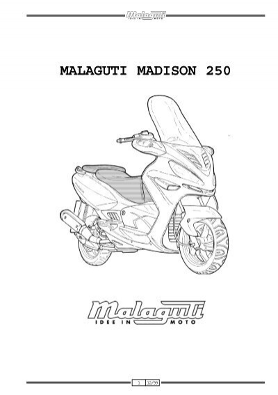 MALAGUTI MADISON 250