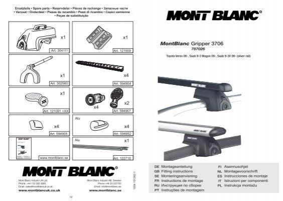 MontBlanc Gripper 3706