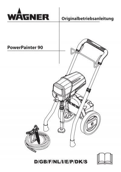 Wagner PP90 Manual