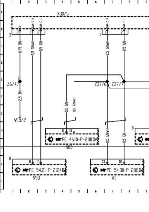 W211 Wiring Diagram engine CAN BUSpdf