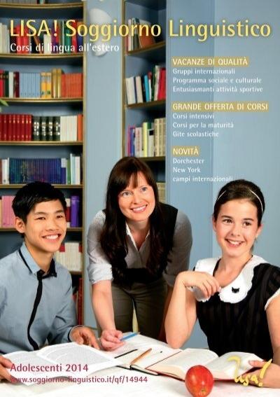 LISA Soggiorno Linguistico  Vacanze studio per ragazzi 2014