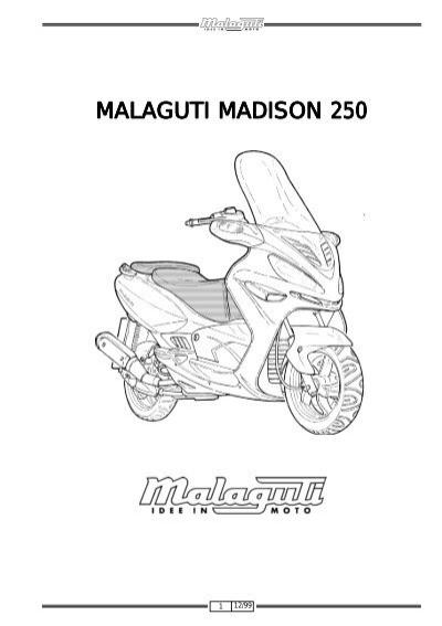 MALAGUTI MADISON 250