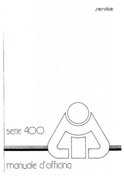 manuale motore lombardini serie LA 400-490-510 im