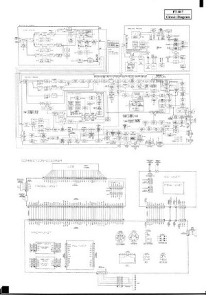 Yaesu  FT817 Circuit diagram  IW2NMX