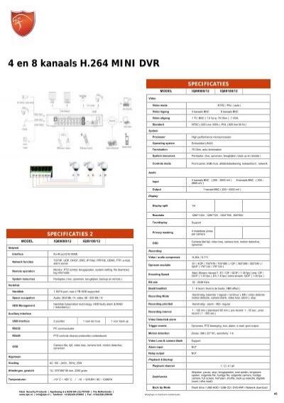 IQ90000/13 SERIES 4, 8 en