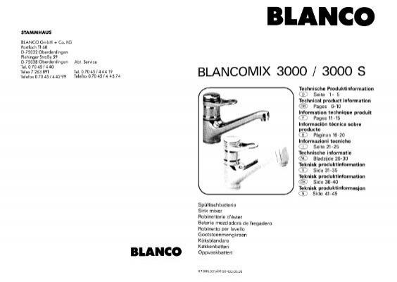 BLANCOMIX 3000/3000 S