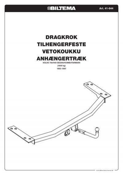 SE Art. 41-644 DRAGKROK V