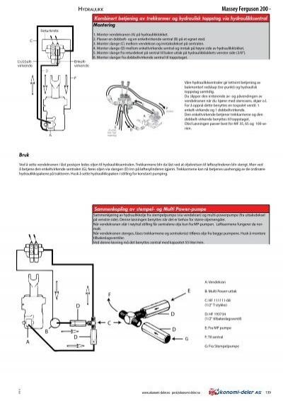 Hydraulikk Massey