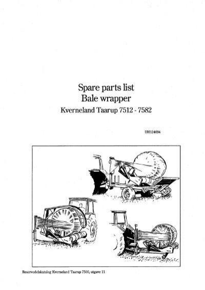 Spare parts catalogue Rou
