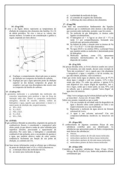 a) A molécula de iodo de