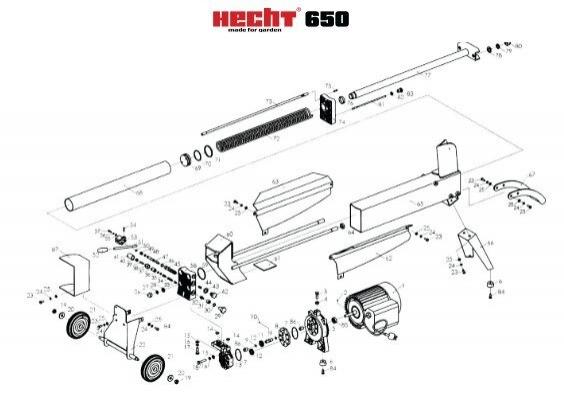 náhradní díly HECHT 650.indd