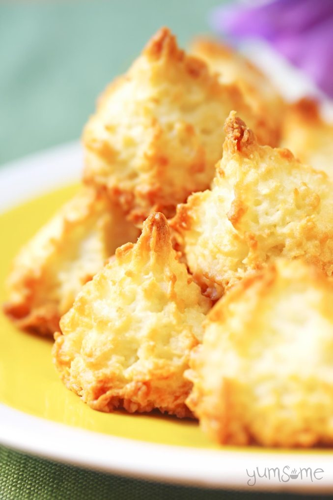 Coconut Macaroons - My Favourite Childhood Treat! | yumsome