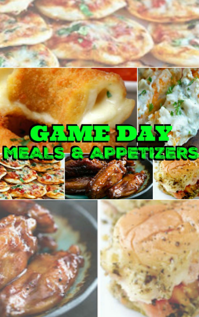 game-day-recipe ideas