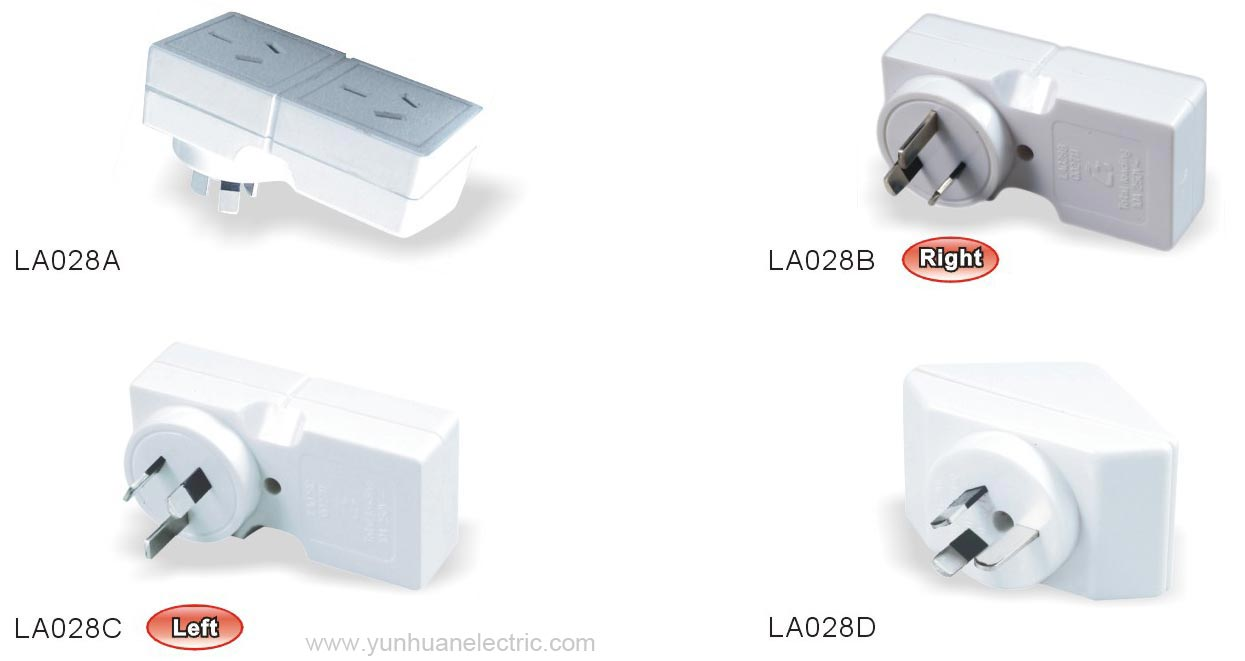 hight resolution of  la028a la028b la028c la028d general purpose socket outlet adaptor