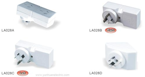small resolution of  la028a la028b la028c la028d general purpose socket outlet adaptor